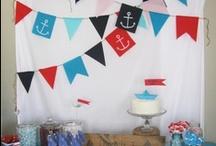 Nautical Birthday Party / nautical birthday party ideas