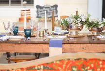 Styling: Tablescapes / A curated collection of beautiful and diverse table settings.