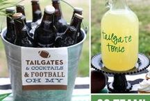 Football party / Football party inspiration, food, music, drinks, tailgating and more