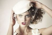 Wedding hats by Mademoiselle Slassi