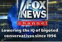 ✩ISSUES /POLITICS: FOX ~ RUSH ~ TEA PARTY ~ KOCH BROTHER'S... = BLATANT LIES, PROPAGANDA & HATE
