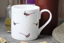 Father's Day / Plenty of Gift Ideas for Father's Day... Treat your Dad to a special present as a thank you for all he does for you! He might like something from our Game Birds, Labrador and Terrier collections or perhaps a 'What A Catch' fine bone china mug if he's a fisherman?