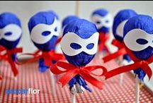 Party for the boys / Birthday party ideas for boys