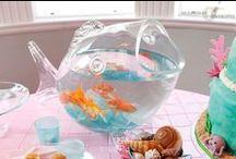 Mermaid parties / Mermaid parties and events ideas