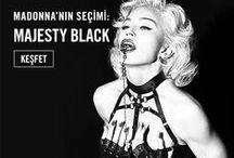 Madonna'nın seçimi:Majesty Black / Lüks moda markası Majesty Black, 2012 yılının Kasım ayında, markanın tasarımcısı Joshua Reno tarafından kuruldu.   İlk koleksiyonu büyük bir başarıya ulaşarak markayı dünya çapında ilgi odağı haline getirdi. Majesty Black tasarımlarına ilk aşık olan uluslararası isim Madonna oldu; 2013'ten itibaren Majesty Black tasarımlarını kullanmaya devam ediyor.