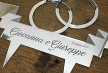 Design for wedding - merci di culto / We design and produce your custom cake topper , graphic design, gadget, tableau the marriage, accessories for wedding and cerimonies
