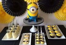 Minion Party / Minion/Despicable Me party decoration ideas and inspiration.