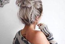 Hairstyles / Účesy, které se dají nosit do školy i do společnosti. :)