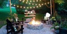 Backyard Ideas / The perfect place for a party! Future backyard goals!