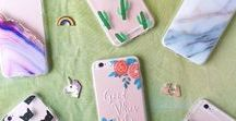 Tech Accessories / iPhone Cases, Chargers, Decals, Sticker Charms, etc.