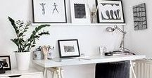 Home Office / Home office dreams! Inspo for all the girl boss' out there!