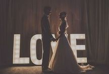 L.O.V.E. / Funny how great my wedding looks on Pinterest, considering I don't even have a boyfriend