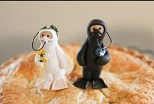 Cake Toppers / Event Ideas to top your cake, cupcake or pie.