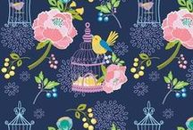 FABRICS FOR GIRLS / Designer fabrics for little girls