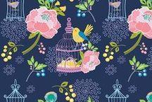 FABRICS FOR GIRLS / Designer fabrics for little girls