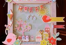 SCRAPBOOKING / Scrapbook papers, elements and projects