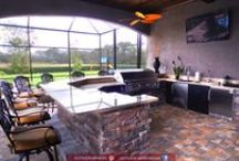 Outdoor Kitchens / Outdoor Living, Kitchens, Outdoor Bar, Grilling, Cookouts