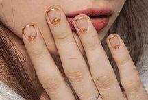 Painted Fingers / drippy finger bones