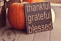 Thanksgiving / Gobble gobble.