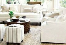 COLOR: White Home Decor / White Home Decor Ideas and Inspiration.   White home decor is clean and bright It can be clean and modern or soft and feminine. It goes well with bright colors and neutrals.  / by Carpet One