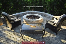 Fire & Water  / Water Features, Fire Pits, Fireplaces, Fire Features