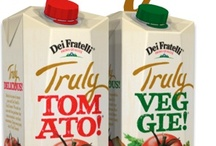 Truly Tomato! & Truly Veggie! Juices / by Dei Fratelli