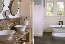 ROOM: Bathrooms / Bathrooms are very functional space in your home but they can also be beautiful. Get some inspiration from these beautiful rooms.  / by Home Decor Inspiration by Carpet One
