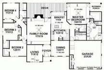 Floor Plans / by Lindsey Rantzow