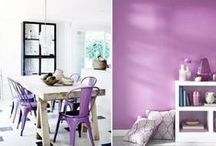 "COLOR: Radiant Orchid  / 2014 Color of the Year  Enjoy this beautiful home decor inspired by 2014's color of the year - Radiant Orchid. ""Radiant Orchid emanates great joy, love and health."" - Pantone  #radiantorchid #coloroftheyear / by Home Decor Inspiration by Carpet One"