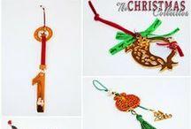 Γούρια 2014 - Christmas Lucky Charms 2014 / Πρωτότυπα χειροποίητα Γούρια 2014.  Handmade Christmas Lucky Charms 2014