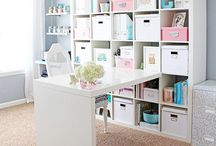 SEWING & CRAFT ROOM INSPIRATION