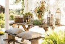 "ROOM: Outdoor Spaces / Extend your home to the outdoors with these inspiring ideas for your outdoor spaces. From decks to patios, you'll love having an ""outdoor room"" in your home.  / by Home Decor Inspiration by Carpet One"