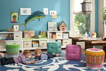 ROOM: Playroom / The playroom is for the kids, but that doesn't mean it can't look nice too. This inspiration will help you create a space to make you and your kids happy.  / by Carpet One