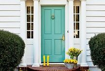 ROOM: Front Door / Make a great first impression. Here's some inspiration for your front door, front steps and more.  / by Home Decor Inspiration by Carpet One