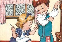 SEWING CLIP ART & FUNNY QUOTES / Vintage clip art