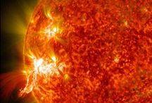 Sonnensystem / Das Sonnensystem. Planeten, Monde und die Sonne.