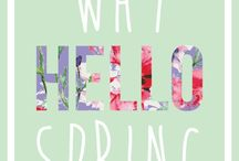 Hello Spring ☀️☔️