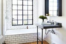 home // bath / by Lindsey Cheney