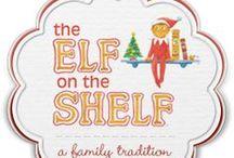 Elf on a Shelf (Elfie) / Elf on the Shelf ideas.