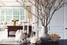 Decor - ideas / Ideas for interior groupings, colors, etc.
