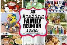 Reunion / Fun family reunion ideas and keepsakes.  Feel free to add ideas.  This is just for fun, it can also be great for large family get togethers or large group church callings.