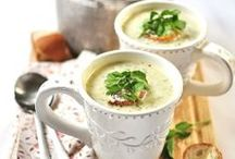 Soups, Broths and Stocks / Creamy-velvety or chunky-hearty soups . . . there's one for everybody's taste! / by Susy Slais