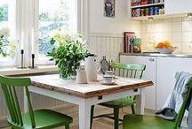 {Kitchen Nook Inspiration}