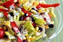 Scrumptious Salads / My collection of wonderful salad recipes. / by Debra Beach