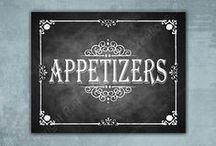Appetizers & Drinks / by Bethlene Beckman