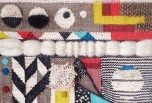 Textiles / Weaving, tapestry, knitting, thread, fiber....