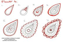 _Paisley_tutorials / Drawing Paisleys Designs / by Jenny Penny