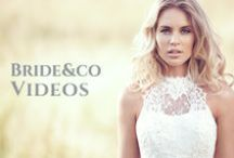 ♥ Bride&co Videos ♥ / Every bride-to-be and her entourage should be watching inspiring and educational videos. Keep close for video updates from Bride&co South Africa