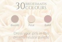 ♥ 10 Styles, 30 Colours! ♥ / 10 Styles, 30 Colours! Perfect for your #bridesmaids dresses. Available to order only. Click on your favourite dress to see the available colours!