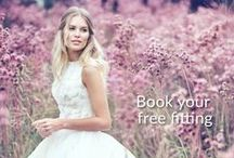 ♥ Reasons to Book a Fitting ♥ / One word, ok, maybe three... Wow. Wow. Wow. Have a look what's new in-store at Bride&co South Africa. Book a free fitting online from our website and get a Personalised Style Consultant find your Dream Wedding Gown and Bridesmaids Dresses.